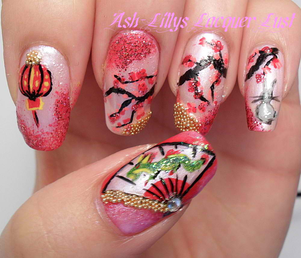 Chinese New Year Nail Art Contest Entries