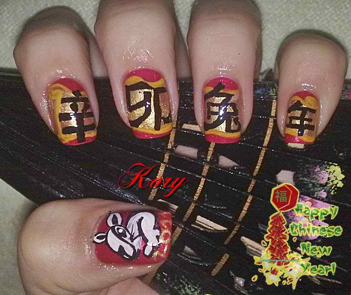 Chinese Nail Designs Tips