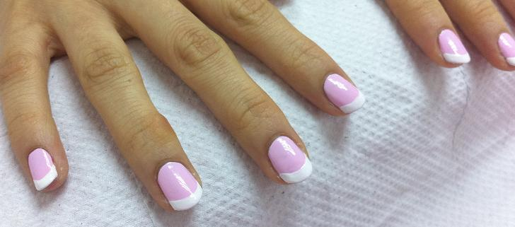 Another French Manicure practice – nailartexpress.com