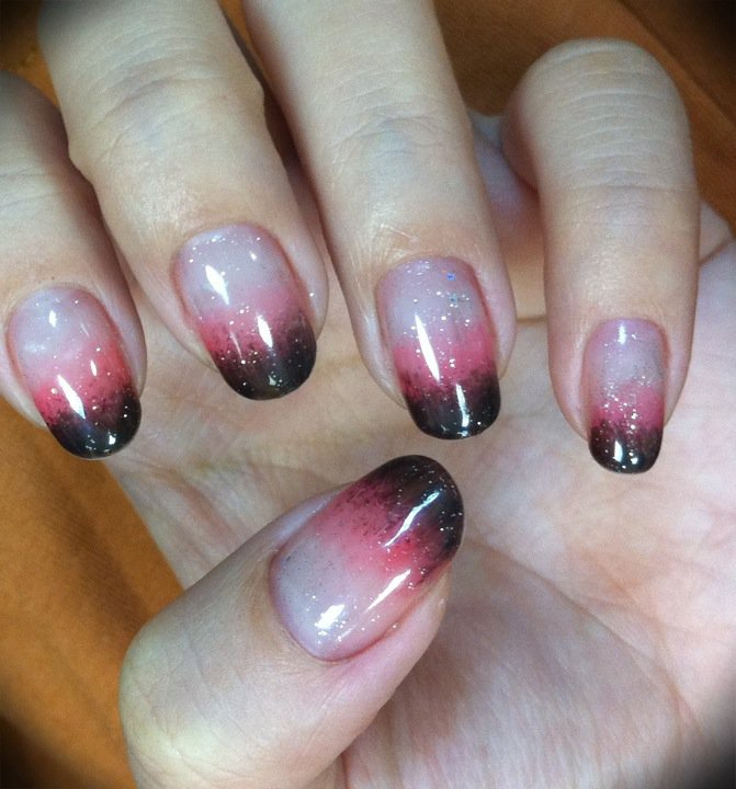 22 perfect Two Color Nail Design – ledufa.com