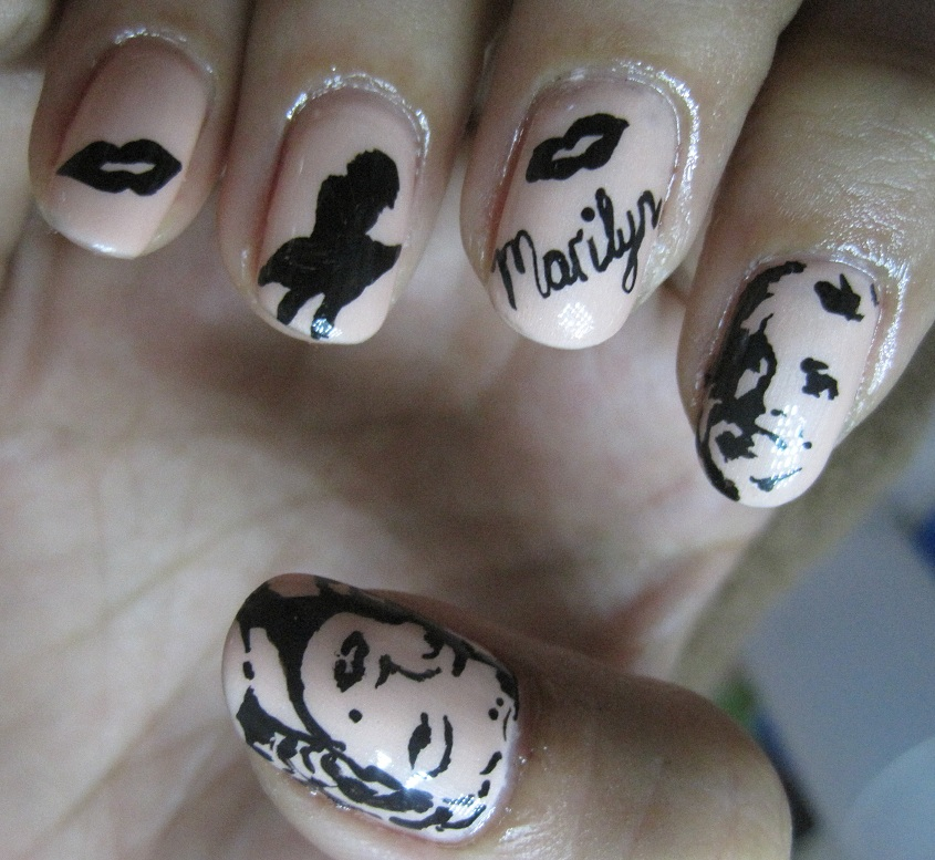 Fantastic Marilyn Monroe Nail Design Component - Nail Art Design ...