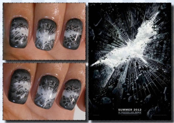 Verni à ongles the Dark Knight Rises