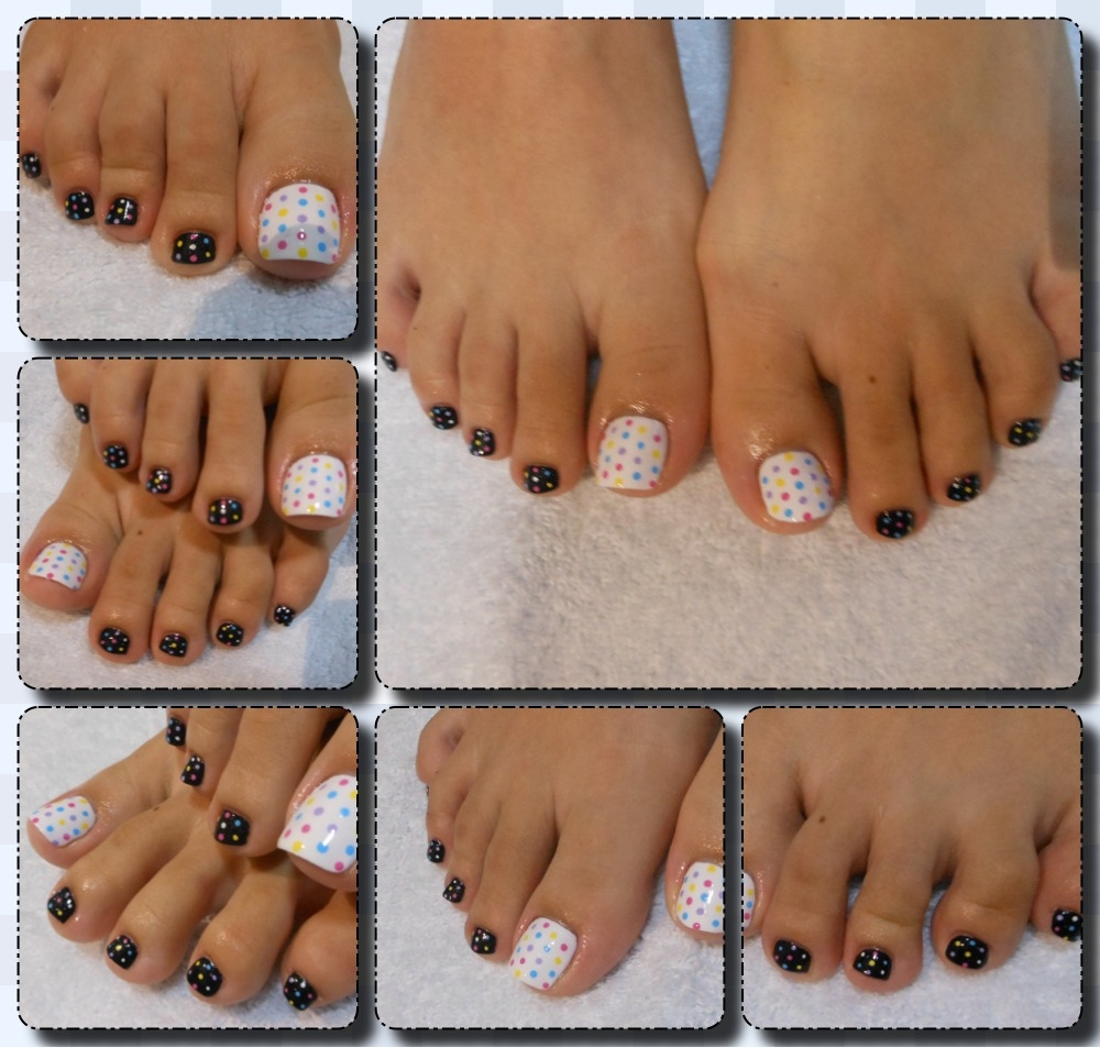 Pedi art going dotty nailartexpress polka dot design for her pedi 20120716 161244g prinsesfo Image collections
