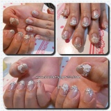 Gelish: Bridal Bling