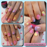 Gel Mani: Paddle Pop Cut Outs