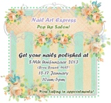 Nail Art Express Pop Up Salon!