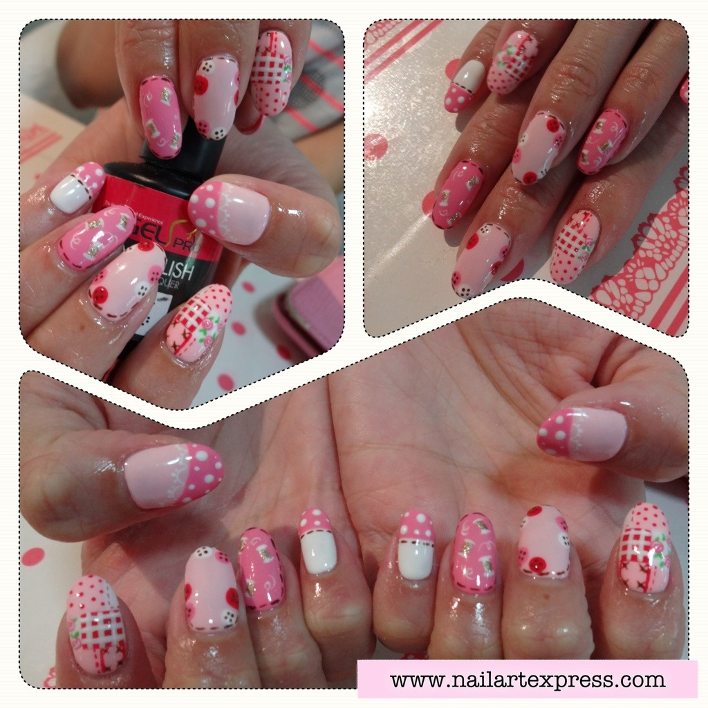 Gel Mani Get Crafty Nailartexpress
