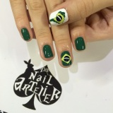 Brasil World Cup nails!