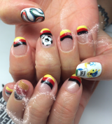 Germany World Cup nails!