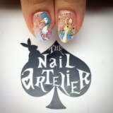 Customised Peter Rabbit nails!