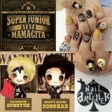 Customisation – Super Junior Mamacitanails!