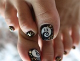 Nightmare Before Christmas Pedi!