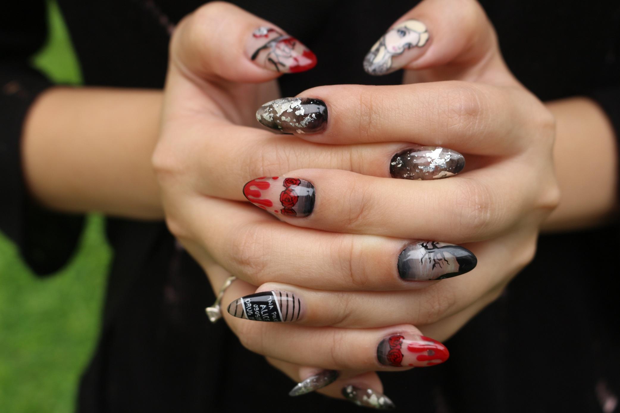 Badass Nail Art Nailarts Ideas